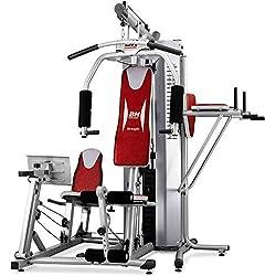 BH Fitness Global Gym Plus - Máquina de fitness, Multiestación, tensión máxima 100 kg (Reacondicionado)