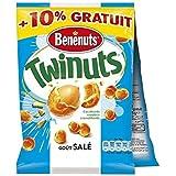 Benenuts twinuts goût salé 2x150g - ( Prix Unitaire ) Envoi Rapide Et Soignée