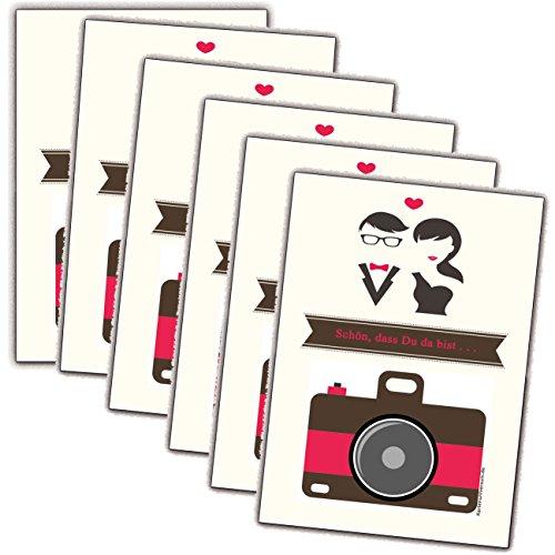 chzeit Hochzeitsspiel Gäste Brautpaar Aufgaben Fotos (25 Stück) (Einweg-kameras Für Hochzeiten)