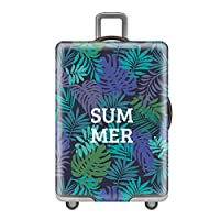 Zhuhaixmy Korean Elastic Spandex Luggage Cover Waterproof Travel Suitcase Protective Cover (Suitcase not included)