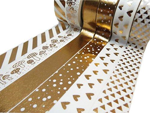 Juegos de cinta adhesiva decorativa Washi, scrapbooking DIY