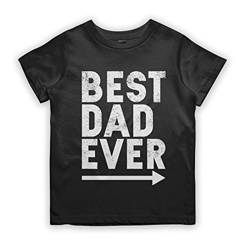 Outfits Ever Original Beste (Best Dad Ever Father Kinder T-Shirt Schwarz)