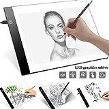 Alivier A4 LED Light Box Tracer Ultra Slim-Zeichenbrett USB-betriebene LED-Copyboards für Das Zeichnen von Künstlern