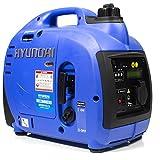 Hyundai HY1000SI 1000 W Portable Petrol Inverter Generator - Blue