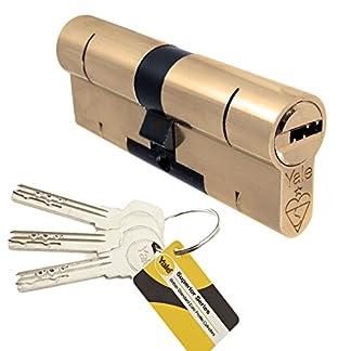 Yale Superior Euro Perfil de bombín de Anti Snap/Bump/selección/para taladro/Pull de alta seguridad UPVC compuesto para Lock