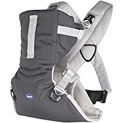 Chicco Easy Fit - Mochila ergonómica portabebé, de 0 a 9 kg, color gris