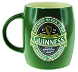 Verde Barrell tazza di ceramica con ST James Gate Label – Guinness Ireland Collection