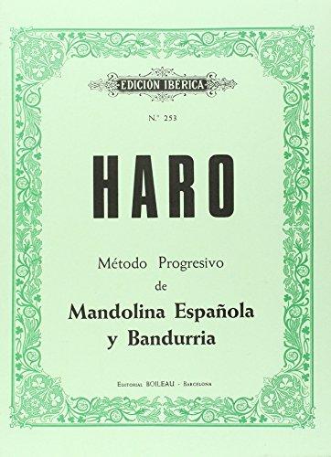 Método progresivo de Mandolina y Bandurria por Francisco Haro