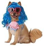 Pup-A-Razzi - Disfraz de cupcake, color azul y rosa