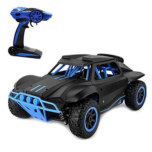 Rabing RC Car 1:18 High Speed 2.4GHz Wireless Remote Control Car Electric Rock Crawler Vehicle (Black)