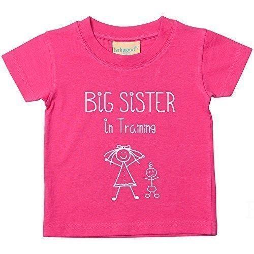ng Pink T-Shirt Baby Kleinkind Kinder verfügbar in den Größen 0-6 Monate bis 14-15 Jahre NEU Baby Schwester Geschenk - Rosa, 12-18 Monate, 12-18 Months (Kleinkind-größe 4)