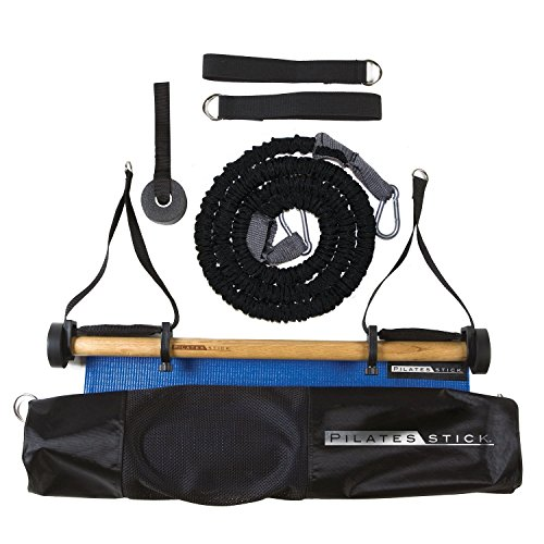 Peak Pilates Erwachsene Pilatesstick, Black, 75 x 15 x 15 cm, PS Basic Kit R2 (Turm-tür-kit)