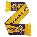 Echarpe avec écusson de basketball LA Lakers (Taille unique) (Jaune/Bleu)