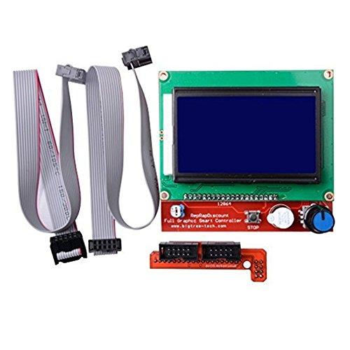 Hosaire 1x 3D-Drucker-Teile & Zubehör 3D-Drucker Smart Controller RAMPS 1.4 LCD 12864 LCD-Bedienfeld 3D-Drucker-Zubehör (3d-druck-teile)