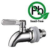 KES Dispensadores de Agua Llave de Recambio 5/8' ó 16mm, SUS 304 Acero Inoxidable, Pulido, K1060