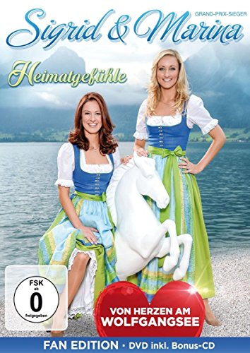 Sigrid & Marina - Heimatgefühle - Von Herzen am Wolfgangsee - Fanedition: DVD inkl. Bonus-CD