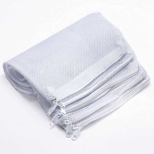 viki-lynnr-5-en-nylon-mesh-aquarium-filtre-de-bassin-de-petite-taille-avec-fermeture-eclair-blanc