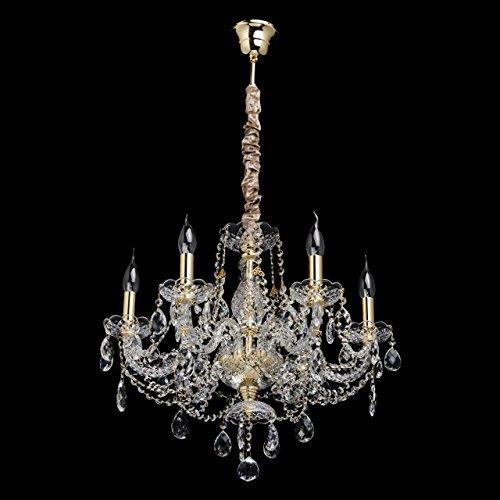klassischer-kerzen-kronleuchter-6-flammig-goldfarbiges-metall-transparentes-glas-klares-kristall-kri