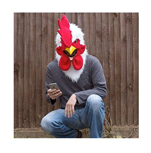 Thumbs Up! - Máscara de gallo, talla única (MRROOSTER)