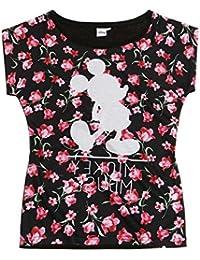 Disney Mickey Mujeres Camiseta manga corta 2016 Collection - Negro