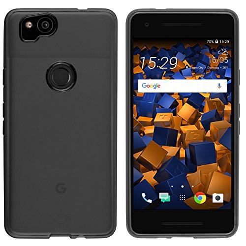 mumbi Schutzhülle für Google Pixel 2 Hülle transparent schwarz - 4