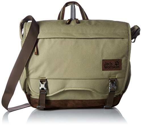 U-sling Gepolsterten Polyester (Jack Wolfskin Camden Note Messenger Bag One Size khaki)
