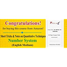 Practice Guru Short Tricks and Notes on Quantitative Techniques - Number System (Voucher)