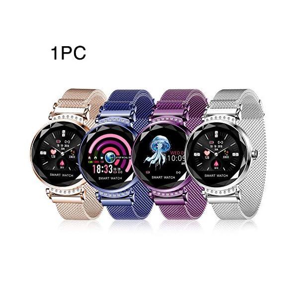Smart Watch Heart Rate Monitor Fitness Tracker Watch Waterproof Smart Watch Bracelet for Women 8