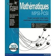 Mathématiques MPSI-PCSI (Inclus eText)