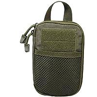 Forza Valley militare EDC Strumenti Accessori Pouch cintura tattica borsa 1000d Nylon con manico, Uomo, Green