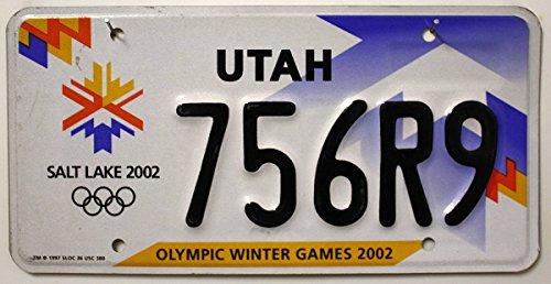 US Nummernschild UTAH Kennzeichen # USA License Plate # Autoschild