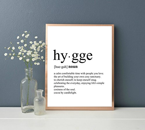hygge-print-dictionary-art-print-typography-art-definition-print-print-only-unframed
