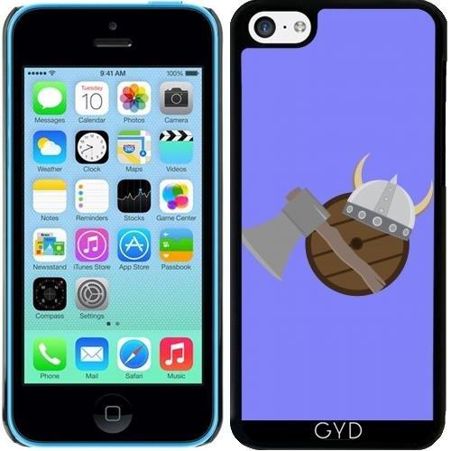 DesignedByIndependentArtists Hülle für iPhone 5c - Wikinger Waffen by Ilovecotton