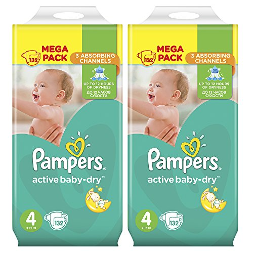 Pampers Active Baby Dry Maxi