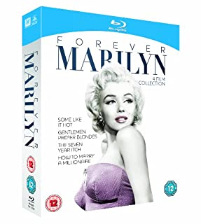 Forever Marilyn Collection (Some Like It Hot / Gentlemen Prefer Blondes / The Seven Year Itch / How to Marry a Millionaire)[ Blu-ray] [1953] [Region Free] (B008BHDZ7E) | Amazon price tracker / tracking, Amazon price history charts, Amazon price watches, Amazon price drop alerts