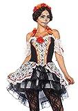 LEG AVENUE 85557 - Damen Kostüm Totenkopf 'Lovely Calavera', Größe XL