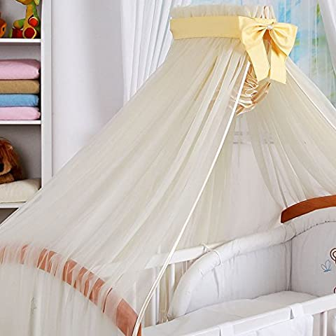 Cielo di bambino Vela e il supporto freccia di lettino. Ecru n & # x153; UD Ecru