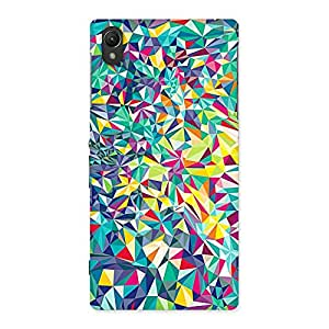 Neo World Vibrant Abstract Back Case Cover for Sony Xperia Z1