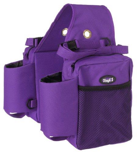 Tough 1 Robuste 1 Nylon Wasserflaschen/Getriebetasche Satteltasche, violett, Einheitsgröße