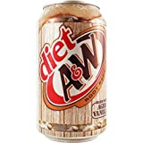 A&W Root Beer Diet 12 FL OZ (355 ml) - 24 Cans