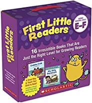 First Little Readers: Guided Reading Levels E & F (Parent Pack): 16 Irresistible Books That Are Just the R