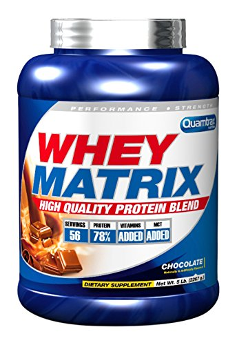 Quamtrax Nutrition Supplemento Nutrizionale Whey Matrix 5