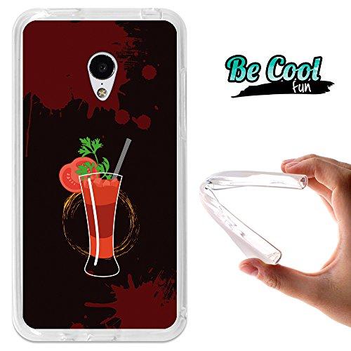 Becool® Fun - Custodia Gel Umi Hammer, Cover TPU prodotto col miglior silicone, protegge e si adatta alla perfezione al tuo Smartphone e oltrettutto ha il nostro disegno esclusivo. Bloody Mary