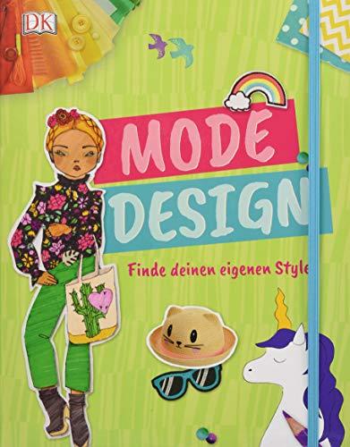 Mode-Design: Finde deinen eigenen Style. Mit Gummiband und Extraseiten zum Zeichnen. Erstelle dein eigenes Lookbook! - Eigene Mode-accessoires
