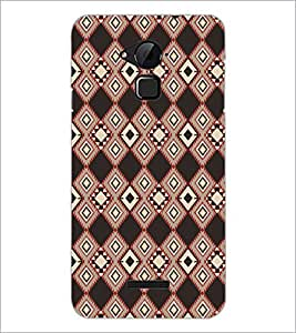PrintDhaba Pattern D-5223 Back Case Cover for COOLPAD NOTE 3 LITE (Multi-Coloured)