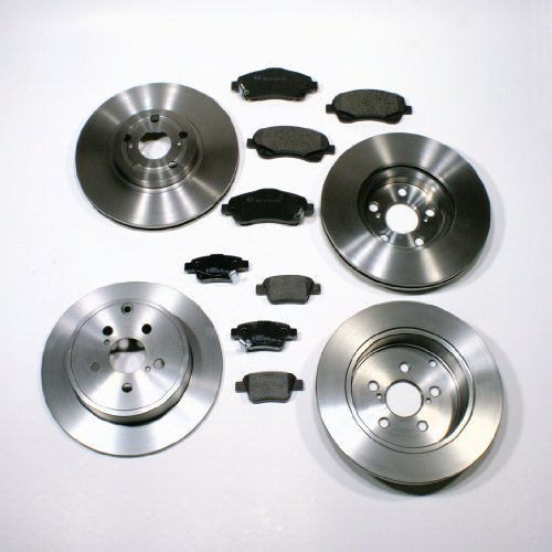 Bremsscheiben 16 Zoll/Bremsen + Bremsbeläge für vorne + hinten (Chevrolet Cruze Teile)
