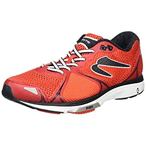 Newton Running Fate II Men's Running Shoe, Zapatillas Hombre, Rojo (Red/Black), 42.5 EU