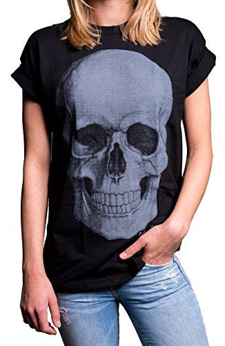 MAKAYA - T-shirt - Manches Courtes - Femme Small Noir