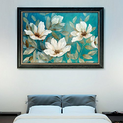 LFF.FF Moderne Minimalistische Dekorative Malerei American Style Wohnzimmer Sofa Schlafzimmer Malerei Pflanze Multicolor Inkjet Malerei,A,63 * 93CM - 93 Inkjet