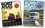 Bordatlas Stellplatzführer 2020: Deutschland und Europa -